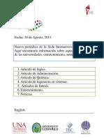 Periodico Agosto 2013