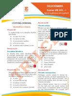 Solucionario UNI 2013-I Aptitud Académica y Cultura General (1)