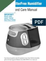 Vicks Humidifier v4500 manual