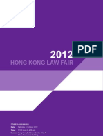 HK Law Fair Brochure