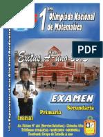 EXAMEN 1ºPRIMARIA  A-1 - FORMATO