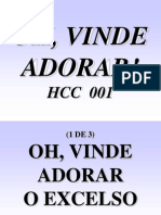 Hcc 001 - Oh, Vinde Adorar!