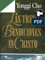 David Yonggi Cho Las Tres Bendiciones en Cristo