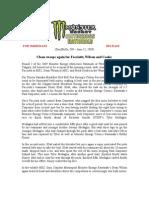 For Immediate (Stouffville, On – June 15, 2009) Release