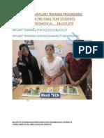 CHENNAI INPLANT TRAINING(IPT)INPLANT TRAINING IN CHENNAI-MAASTECH