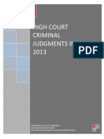 Criminal Judgments Index Namibia