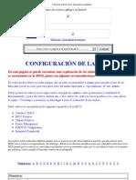 Valores de la BIOS con su explicación en castellano