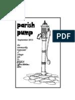 Parish Pump September 2013