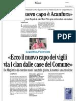 Rassegna Stampa 30.08.2013