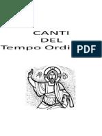 Canti Tempo Ordinario