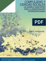 José Amozurrutia de María y Campos - Complejidad y ciencias sociales
