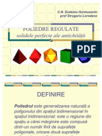 poliedre regulate
