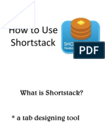 Maricel Olleres How to Use Shortstack