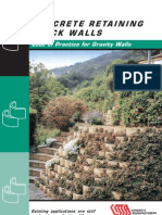 Retaining Block Walls Code of Practice[1]