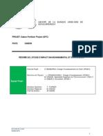 Gabon - Gabon Fertilizer Project - Résumé EIES (1)