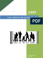 Los Valores de La Familia (Conferencia)