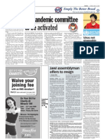 thesun 2009-06-12 page06 flu pandemic committee to be activated