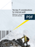 Ten Key IT Considerations for Internal Audit