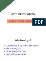 Meetings Groupthink