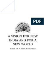 A VISION FOR NEW INDIA AND FOR A NEW WORLD - A Preview