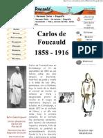 Biografía del hermano Carlos de Foucauld