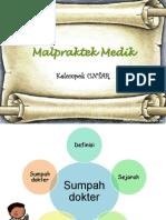 PPT Malpraktek Medik