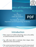 Mechanics of Filament Networks