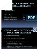 Council of Scientific And