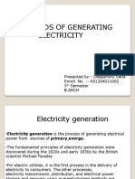 sources of electricity generation and supply