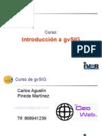 Sesion 15 Introduccion a Gvsig