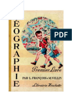 Géographie François-Villin CE1 Premier Livre 1961