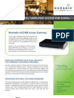 AG2300 Datasheet Final