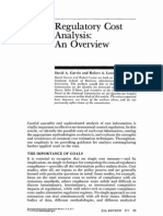 Regulatory Cost