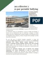 Sentencian a Director y Profesores Por Permitir Bullying