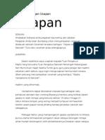 Contoh Karangan Bahasa Melayu PMR