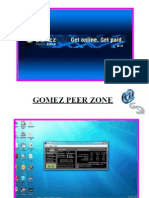 Tutorial Gomez Peer Zone