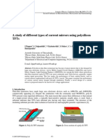 A study of different types of current mirrors using polysilicon
