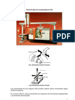CNC Tema III Sistemas Coordenados