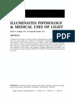 Illuminated Physiology and Medical Uses of Light; David a. Jernigan (Energies, Vol 16 No 3)