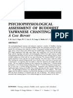 Psychophysiological Assessment of Buddhist Taiwanese Chanting; I.M. Lin (Energies, Vol 17 No 2)