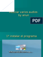 Mezclar Varios Audios by anun