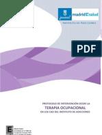 Intervencion Drogas Terapia Ocupacional Madrid 2013