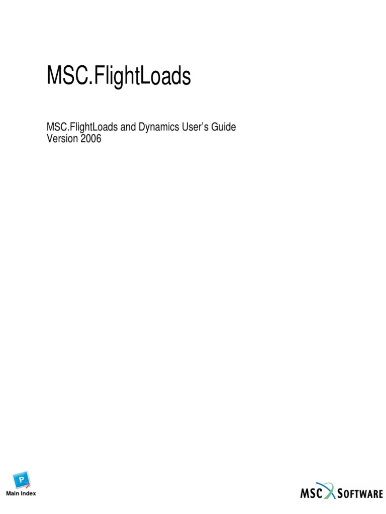 msc flightloads and dynamics user s guide aerospace computing rh scribd com Femap Fea MSC Nastran Patran