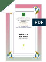 KURIKULUM TAPEL 2013-2014 (KTSP)
