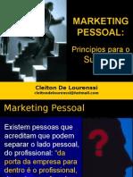 Cleiton De Lourenssi Marketing Pessoal