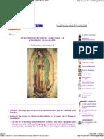 Descubrimientos Del Manto de La Virgen de Guadalupe