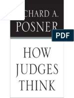 HOW JUDGES THINK