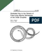 Illustrated Key to the Genera of Free-Living Marine Nematodes of the Order Enoplida