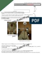 11 Pendule Simple Correction