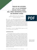 Estrategias de Acceso Al Suelo Urbano y La Vivienda Di Virgilo